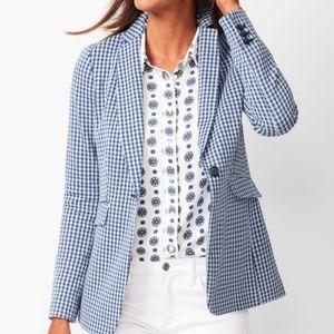 NWOT Talbots Knit Jacket Blue